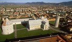 The Pisa Cathedral Square in all its glory.