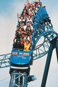 The Shockwave at Six Flags, Dallas Photo Credit: Dallas Convention and Visitors Bureau Scary Roller Coasters, Cool Coasters, Roller Coaster Ride, Six Flags, Amusement Park Rides, Visitors Bureau, Water Slides, Animal Quotes, Summer Fun