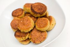 Falafel - less salt, and they are prefect!