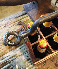 Wood Beer Caddy  Wooden Beer Caddy Beer by TexasFrenchMarket