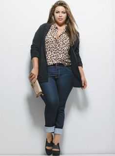 Untuck the shirt then it's plus size styling