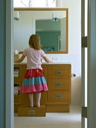 Pull out counter step - Hidden Step stool