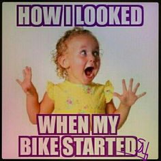 Call them what you will; Motorcycle Memes, Biker Quotes, or Rules of the Road - they are what they are. A Biker& way of life. Biker Chick, Biker Girl, Motorcycle Memes, Motorcycle Touring, Women Motorcycle, Biker Love, Bike Quotes, Motocross Quotes, Dirtbikes