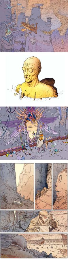 "Hugely popular and influential French comic artist Jean Giraud passed away today. Under his own name, and his science fiction pen-name ""Moebius,"" Giraud created thousands of comic strip…"
