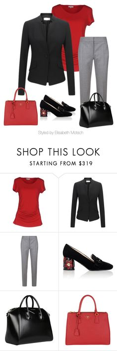 """""""Extravagantes Business-Outfit"""" by motsch on Polyvore featuring Mode, Etro, STELLA McCARTNEY, Prada und Givenchy Business Outfits, Stella Mccartney, Givenchy, Prada, Shoe Bag, Polyvore, Stuff To Buy, Shopping, Collection"""