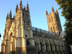 Canterbury Cathedral - The time of the writing of The Canterbury Tales was a turbulent time in English history. There were many political clashes during these days. In 1381, the Peasants' Revolt, lead by Wat Tyler, began and in 1399, king Richard II was deposed. Many of Chaucer's close friends were executed and he himself was forced to move to Kent in order to get away from events in London.