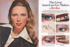Retro Makeup - Easy guide to a makeup look by Besame Cosmetics founder Gabriela Hernandez. From shimmer eye shadows, bronze powders to perfect lips Makeup Ads, Retro Makeup, Mod Makeup, Disco Makeup, Make Up Looks, 1970s Makeup Tutorial, Vintage Makeup Tutorials, 70s Hair, Beauty Ad