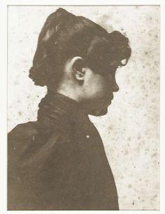 Portret van Geesje Kwak, George Hendrik Breitner, 1890 - 1900