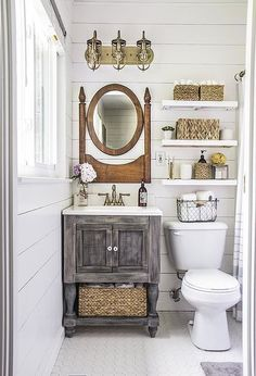 70+ Most Popular Small Bathroom Designs On a Budget 2019 - Page 57 of 78 - SeShell Blog Bathroom Makeovers On A Budget, Budget Bathroom, Bathroom Remodeling, Remodeling Ideas, Remodel Bathroom, Bathroom Interior, Shower Remodel, Small Bathroom Ideas On A Budget, Kitchen Renovations