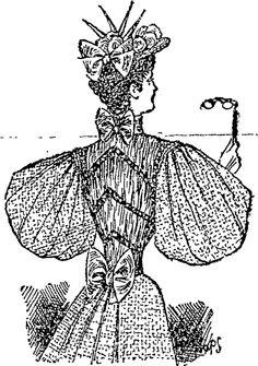 A Silk and Chiffon Design, (Auckland Star, 16 November 1895)