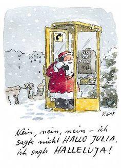 Peter Gaymann Postkarte Hallo Julia