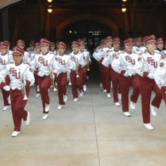 The Florida State University Marching Chiefs...the best collegiate marching band in the world.