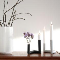 Pipeline light grey - fra danske Nur design - Livlige Rom