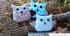 {Trey's EASY Owl}  Hang onto your hats, this is the easiest (love you beginners!), fastest, andcutest free owl epattern  and tutorial ar...