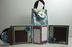 Inking Idaho: Mini 3x3 Envelope Scrapbook Purse