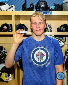 Patrick Laine Winnipeg Jets 1st NHL Goal cojohockey.com