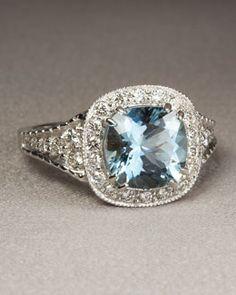 O3765 Penny Preville Aquamarine Ring