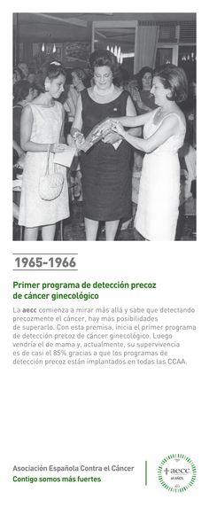 1965. Primer programa de detección precoz de cáncer ginecológico.