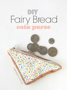 How to: Fairy Bread Coin Purse | My Poppet Makes