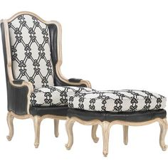 Drexel Heritage Upholstery - Hollis Chair and Ottoman