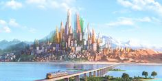 Discover The Art of Zootopia in a new gallery 70 Original Environment Concept Art from Armand Serrano, Scott Watanabe & more… In a city of anthropomorphic