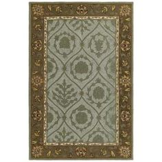 Kaleen Home & Porch Turner Creek Robins Egg 7 ft. 6 in. x 9 ft. Area Rug-2007-61 7.6x9 at The Home Depot