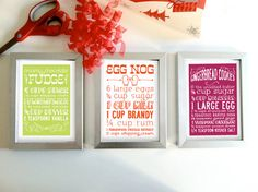 corporate holiday cards with recipe - Google Search