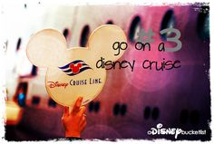 A Disney Bucket List - Someday we're taking that cruise to Alaska.