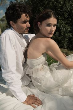 Exclusive Interview with Vered Vaknin and the 2015 Bridal Collection Bridal Photoshoot, Bridal Shoot, Bridal Gowns, Wedding Gowns, Lace Wedding, Wedding Styles, Wedding Photos, Wedding Ideas, Boho Bride