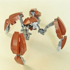 Separatist Crab Droid (V.2): A LEGO® creation by separatist sympathiser : MOCpages.com