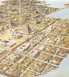 Regional metropolis constantinople and tenochtitlan