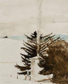 Smoke at Kuerner's Andrew Wyeth