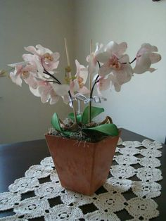 Gum Paste Phalaenopsis Orchids