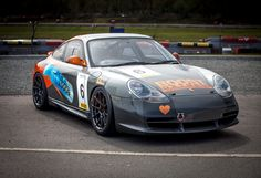 The Country Classics UK race team competes in the Porsche Club Great Britain Championship (televised on Motors TV) with a fleet of four Porsche 996-platform 911s, including the #6 shown here. Each of their cars is equipped with Pirelli racing tires and 18-inch Forgeline one piece forged monoblock GS1R wheels finished in Graphite! See more at: http://www.forgeline.com/customer_gallery_view.php?cvk=1662  #Forgeline #forged #monoblock #GS1R #notjustanotherprettywheel #madeinUSA #Porsche…