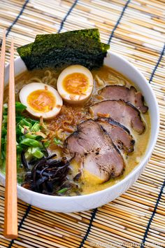 Asian Recipes, Ethnic Recipes, Ramen, Cake Recipes, Food Photography, Good Food, Cooking, Kitchen, Soups