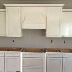 Landen Painted White Cabinets Gourmet Kitchen Kitchen