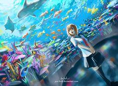 Aquarium by Jon-Lock