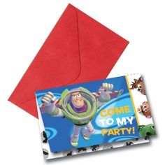 Rêves & Merveilles Set of Toy Story invitations / Set de cartes d'invitation Toy Story
