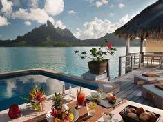 Morning in Fiji