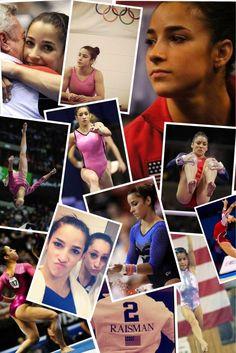 Aly Raisman collage