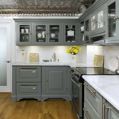 Gray Painted Kitchen Cabinet Ideas grey kitchen cabinets | what kind of kitchen cabinets do you and