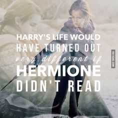 The real heroine of the series: Hermione Jean Granger!