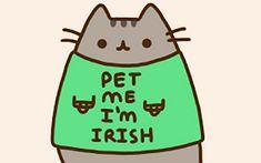 pusheen irish - Google Search