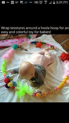 Hula hoop play ring