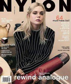 Elle Fanning Covers Nylon Korea February 2016