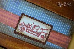 Tays Rocha: Baú vintage masculino #scrapdecor #scrapbooking #crafts #vintage #taysrocha #ateliermundocountry