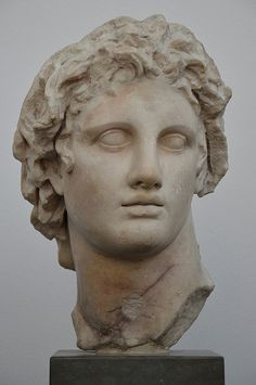 Alexander the Great, marble copy of the original by Lysipp… | Flickr