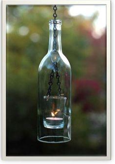 {Repurpose. Recycle. Upcycle} 12 Wonderful Ways to Upcycle Wine Bottles