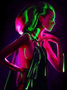 Neon Neon Photography, Fashion Photography, Pinterest Photography, Inspiring Photography, Light Painting, Body Painting, Neon Noir, Neon Glow, Fashion Painting