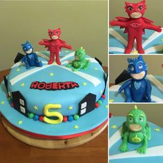 Pj Mask cake  torta Pj Mask